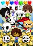 Undertale: Have Mercy by IcyPanther1