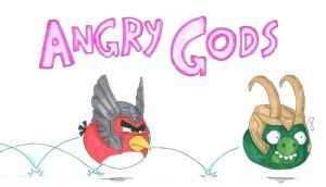 Angry Gods : love you Dada by LadyNorthstar