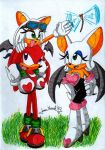 Rouge Knuckles TinaYoung by Max-Echidna-Bat