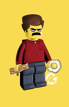 Lego Ron by JustinPeterson