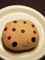 chocolate chip cookie doll by bebehood