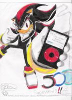 OMG 500 Pageviews, Shadow iPod by anemixdacat93