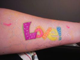 To Write Love On Her Arms by TheLittleKunoichi