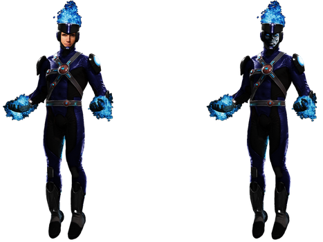 Deathstorm (Full Body) - Transparent Background! by Camo-Flauge