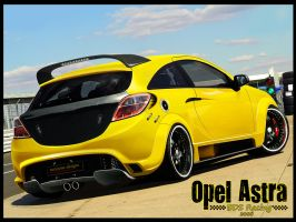 NoxiouS DesigN Opel Astra by noxiousdesign