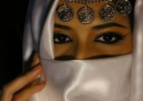 hejab_white by saleem007