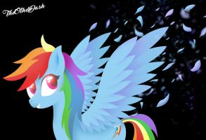 Rainbow Dash Feathers by TheOtherDash