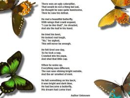 Butterfly Poem by PharaohAtisLioness