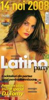 flyer ClubTAO - Latino PARTY by semaca2005