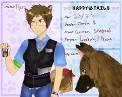 Happy Tails- Hero by CaPsLoCk-HoLmEs