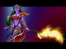 Dota Heroine by Ambra-Lioness
