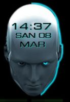 Eset-Animated-Clock 1-1-1 by xordes