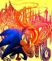 Sonic and the secret rings by Omiza