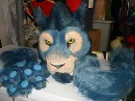 worgen cat head for sale SOLD by ShaggyGriffon