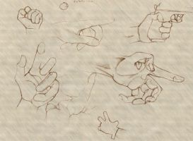 hand study by Hobbes-Maxwell