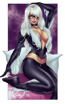 Black Cat Felicia Hardy by Elias-Chatzoudis
