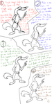 How to draw a weasel in Disney style by StanHoneyThief
