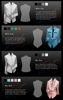 AA: Shirts set no.1 by Spritetacular