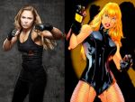 Ronda Rousey-Black Canary by Shulkie