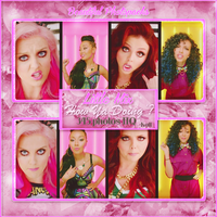 Photopack Little Mix - How Ya Doin'? by KattLovesLarry