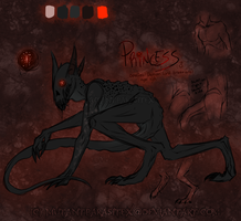 Princess Ref by MutantParasiteX