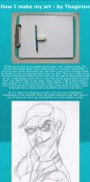 How I Make My Drawings by Thagirion