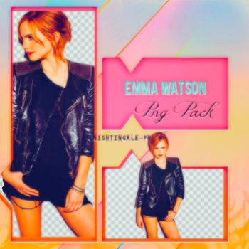 Emma Watson Png Pack by Nightingale-Png