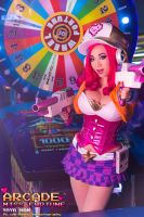 League of Legends Miss Fortune Arcade version by Benny-Lee