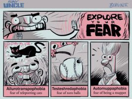 EXPLORE YOUR FEAR by sayunclecomics