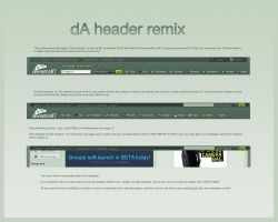 dA Header Remix by trezoid