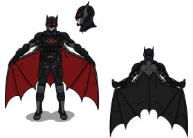 Batman Redesigned by toekneearrows