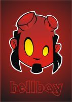 Heads Up Hellboy by HeadsUpStudios