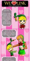 Choose your Link San Valentin by sanahi-saya
