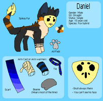 Daniel Refrence sheet by huskynugget