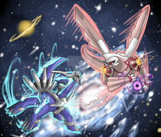 :PKMN: Time versus Space by Clytemnon