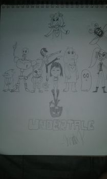 A Tribute to Undertale by maxkid1030