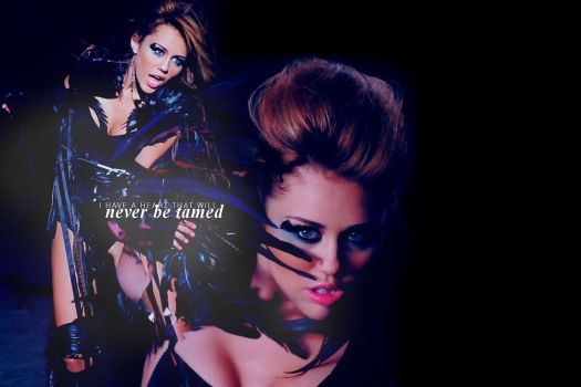 Never be Tamed by alivebesideyou