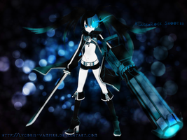 Black Rock Shooter Starlights by lycoris-vampire