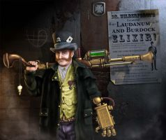 Steampunk Gentleman by JohnMalcolm1970
