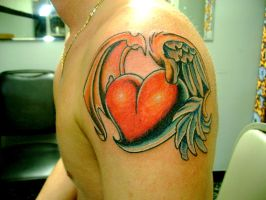 heart tattoo by Toast79