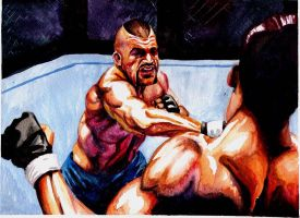 Chuck Liddell throws down by realghostbuster