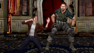 Redfield Dancing Emotes Poses by Mister-Valentine
