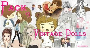 pack png dolls o munequitas by Soleciito