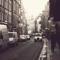 On the Streets of London by UntamedUnwanted