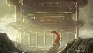 Lung-Temple Concept by Brollonks
