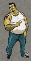 fat dude by TeeDizzle