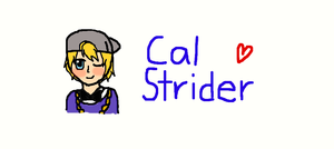 Guidestuck: Cal Strider by deaththegirl99