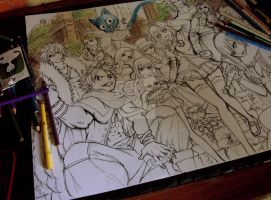 fairy tail wip by Telemaniakk