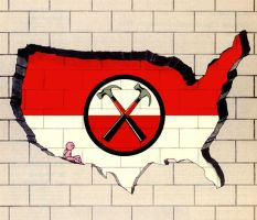 The Wall Across America by ediskrad-studios