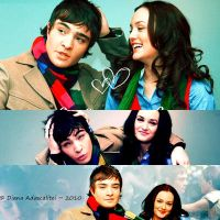 Blair and Chuck Forever by boysonthedocks